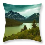 Two Medicine  Throw Pillow