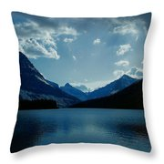 Two Medicine Lake Throw Pillow
