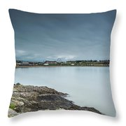 Two Minutes At Barry Island Throw Pillow