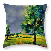 Two Oaks 56 Throw Pillow