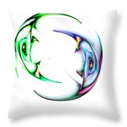 Two Of 1 Throw Pillow