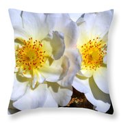 Two Of A Kind Throw Pillow by Ekta Gupta