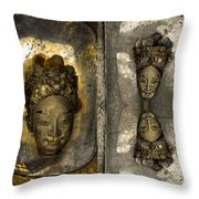 Two Part Panel Throw Pillow