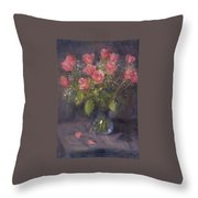 Two Petals Throw Pillow