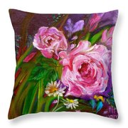 Two Pinks Jenny Lee Discount Throw Pillow