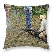 Two Ropes Full Throw Pillow