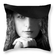 Two Sides To Each Story... Throw Pillow