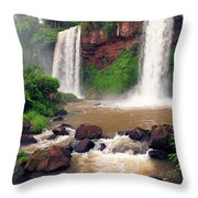 Two Sisters Throw Pillow