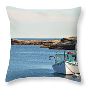 Two Sons Throw Pillow