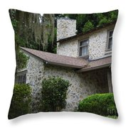 Two Story Beauty Throw Pillow