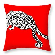Two Tails Throw Pillow