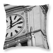 Two Timing Throw Pillow