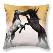Two To Tango Throw Pillow