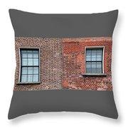 Two Windows Throw Pillow