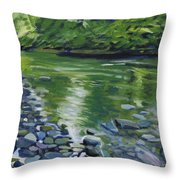 Twolick Creek Throw Pillow