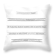 Twombly Throw Pillow