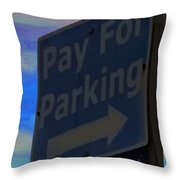 Tybee Island Enforcer Throw Pillow