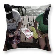 Tying The Knot I Throw Pillow