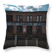 Tyler Candle Company Throw Pillow