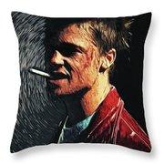 Tyler Durden Throw Pillow