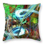 Typhoon Throw Pillow