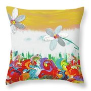 Typical Summer Day Throw Pillow