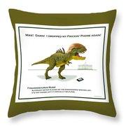 Tyrannosaurus Rump Throw Pillow