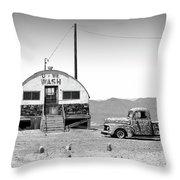 U - We Wash - Death Valley Throw Pillow