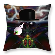 u043 Pst, it is I, Rene Throw Pillow