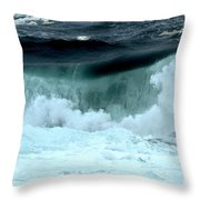 Ucluelet Breaking Waves Throw Pillow