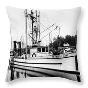 Ucluelet Harbour - Vancouver Island Bc Throw Pillow