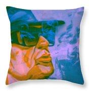 Udo Lindenberg Die Coole Socke 4 Pop Art Pur Throw Pillow