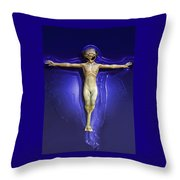Holy Ufo Throw Pillow