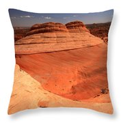 Ufo In Coyote Buttes Throw Pillow