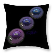 Ufo Strut Throw Pillow