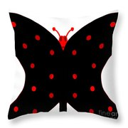 ugly Bug butterfly Throw Pillow