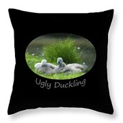 Ugly Duckling Throw Pillow