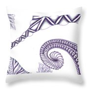 Ugly Stepsister Throw Pillow
