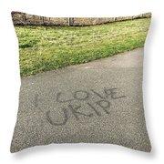 Ukip Grafitti Throw Pillow