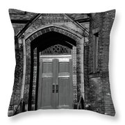 Ukrainian Catholic Church Bw Throw Pillow