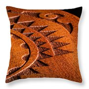 Ukulele Detail Throw Pillow