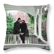 Ula And Wojtek Engagement 11 Throw Pillow