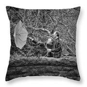 Ula And Wojtek Engagement 16 Throw Pillow