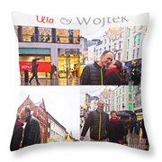 Ula And Wojtek Engagement 5 Throw Pillow