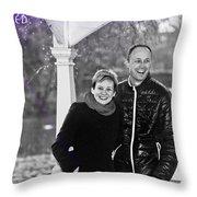 Ula And Wojtek Engagement 6 Throw Pillow