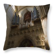 Ulm Cathedral Throw Pillow
