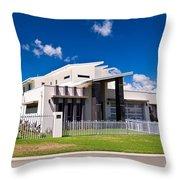 Ultra Modern House Throw Pillow