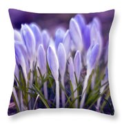 Ultra Violet Sound Throw Pillow