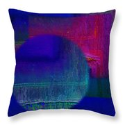 Ultradeep Lavender Throw Pillow