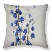 Ultramarine  Throw Pillow by Priska Wettstein